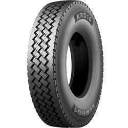4 Tires Kumho Krd16 225/70r19.5 Load G 14 Ply Dc Drive Commercial