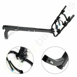 Bike Rack 3-bicycle Carrier Hitch Mount Double Foldable For Truck Suv Upgrade