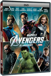 Marvels The Avengers Dvd 2012 Disc Only