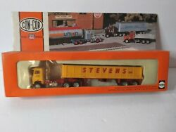 Herpa Con Cor Ho Scale Tractor And Dump Trailer Stevens 001002 New