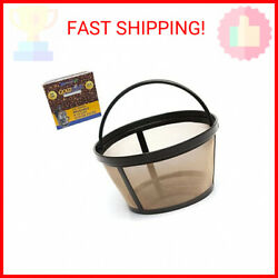 Goldtone Reusable 8-12 Cup Basket Coffee Filter Fits Mr. Coffee Makers And B …