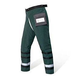 Technical Wrap Chainsaw Chaps By Ul Class A 8 Layers Medium Army Green