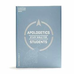 Csb Apologetics Study Bible For Students Hardcover