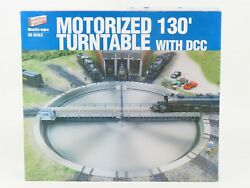 Ho 1/87 Scale Walthers Built-ups 933-2850 Motorized 130 Degree Turntable W/dcc