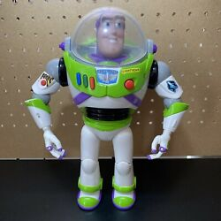 Vintage Buzz Lightyear 12 Talking Toy Story Figure Space Ranger Used Working