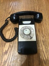 1970s Black Rotary Wall Phone Automatic Electric Starlite Restoration Project