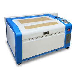 Ruida Motorrized Z 60w Co2 Laser Cutter Engraver Machine 600x400mm With Rotary