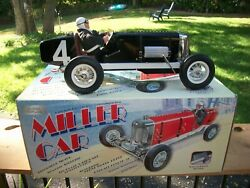 Gilbow 1/8 Scale Miller Windup Classic Tinplate Indy Race Car W/box