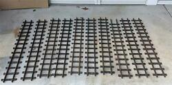 Vintage Original 1920's Buddy L Outdoor Railroad Track 10 - 48 Sections