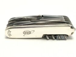 Large Swiss Army Knife And Co Sterling Silver W/ 18kt Accent Ap2030782