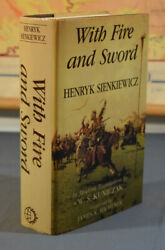 With Fire And Sword Henryk Sienkiewicz Copernicus Society 1991 Hardcover