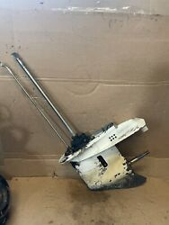 Used Lower Unit / Gearcase Johnson Evinrude 1993-2005 40 48 50 Hp Outboard Motor