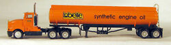 Con-cor 0004-001054 Ho Labelle Tractor With Oil Tank Trailer - Assembled