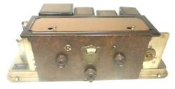 Vintage Atwater Kent 55c Chassis Radio Tested / Serviced / Sounding Great