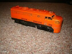 Lionel Postwar Alco A Non-powered Chassis W / Union Pacific 202 Shell For Parts