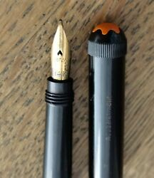 Near Mint Rouge Et Noir Baby Safety Fountain Pen - Rare Early C.1922