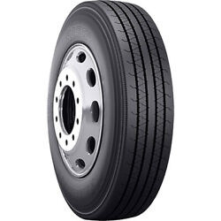 4 Tires Bridgestone R196a 295/75r22.5 Load G 14 Ply All Position Commercial