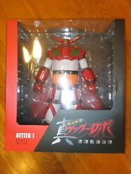 Medicom Toy Vinyl Collectible Doll Vcd Getter-1 Getter Robo Figure Statue