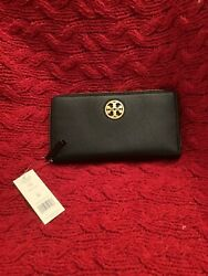 Tory Burch Black Leather Wallet NWT $109.00