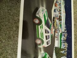 Lot Of 2. 2013 Hess Toy Truck And Tractor Nib And Helicopter And Rescue Truck
