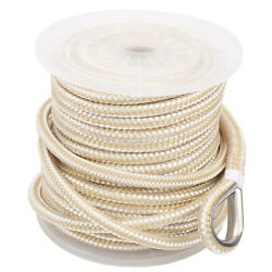 Champion 1/2 In X 150 Feet Double Braid Nylon Anchor Line With Stainless Thimble