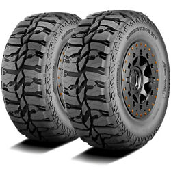 2 Tires Armstrong Desert Dog Mt Lt 33x12.50r20 Load F 12 Ply M/t Mud