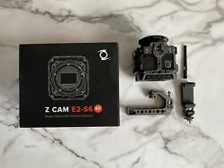 Z Cam E2-s6 Super 35 6k Cinema Video Camera And Extras Batteries And Cage