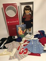 American Girl Molly Doll, Outfits And Accessories Lot