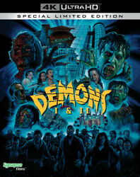 Demons 1 And 2 Limited Edition 4k Ultra Hd Blu-ray With Slipcover