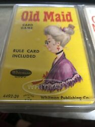 Old Maid Playing Cards Vintage