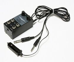 Flightcom Iisx Pilot/co-pilot Voice Activated Intercom System With Adapter Cable