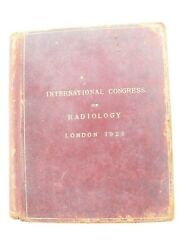 International Congress Of Radiology London 1925 Book Of Attendees And Autographs