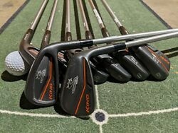 Cobra King Forged Cb/mb Irons 3-pw With Kbs Tour C-taper 120 S Shaft