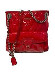 Coach Women's Purse Red Patent Leather $70.00
