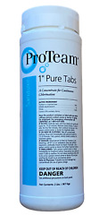 1 Pure Tabs Pool And Spa Sanitizer Tablets Continuous Chlorination - 2 Lb Bottle