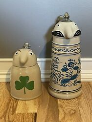Vintage Schultz And Dooley Beer Steins Webco Made In Germany - Utica Club