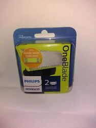 Philips Norelco Oneblade Replacement Blade 2 Packqp220/80 - New