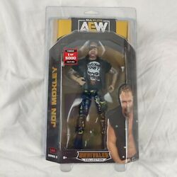 AEW Unrivaled Series 5 Jon Moxley Chase 1 5000 RARE Action Figure Free Shipping