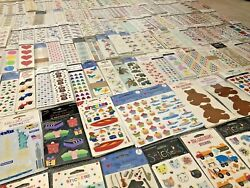 Huge Collection Lot Mrs Grossmanandrsquos 630 Packages Vintage Limited Stickers Rare