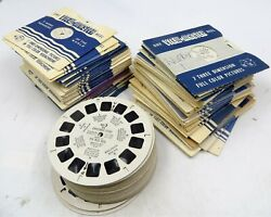 View Master Lot Of 112 Reels Great Selection Of Topics