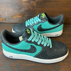 """Nike Air Force 1 Godzilla Atomic Teal 488298-304 Men's Size 10 """"worn Once"""""""