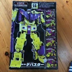 With Expansion Parts Trans Formers Unite Warriors Uw04 Debuster