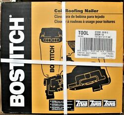 Bostitch 15-degree Pneumatic Coil Roofing Nailer Rn46-1