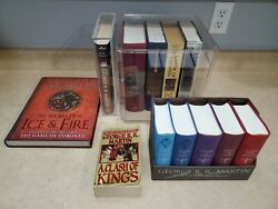 George R.r. Martin Rare Book Lot -signed Copies 1st Editions Game Of Thrones