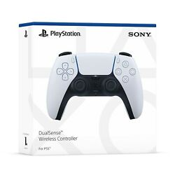 Sony Dualsense Wireless Controller Playstation 5 Ps5 White New Sealed