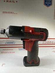 Snap On 1/4 14.4v Cordless Screwdriver W Battery Cts761ao