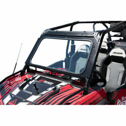 Tusk Utv Full Glass Windshield With Vent And 12 Windshield Wiper For Polaris