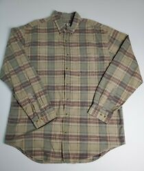 The Territory Ahead Menand039s Corduroy Shirt Size 2xlt Multicolor Plaid Button-down