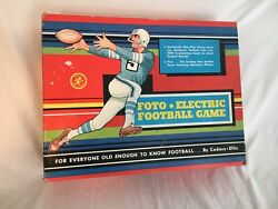 Vintage 1950s Foto-electric Football Game By Cadeco Tested-works