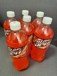 Mountain Dew Cherry Citrus 6 Pack 20 Oz Bottles Brand New Master Chief Approved